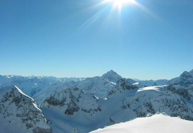 Beautiful Day on Summit, Hunter Mtn! 12-29-2012