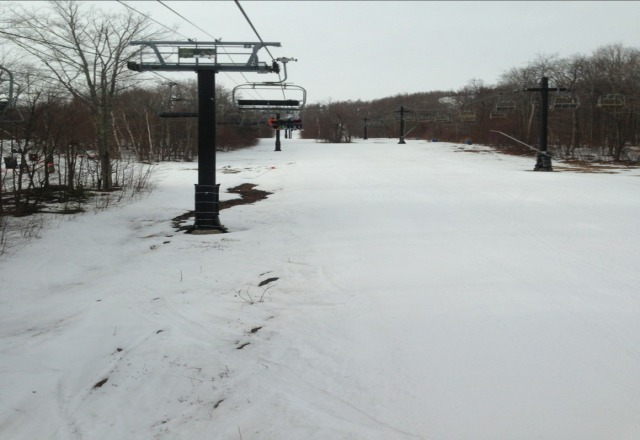 not bad for last day. empty mountain!