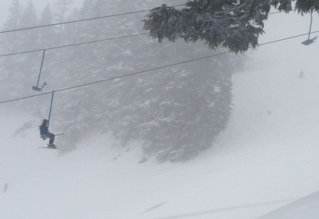 epic day! pow ballz deep in spots! drifting and windy but awesome!