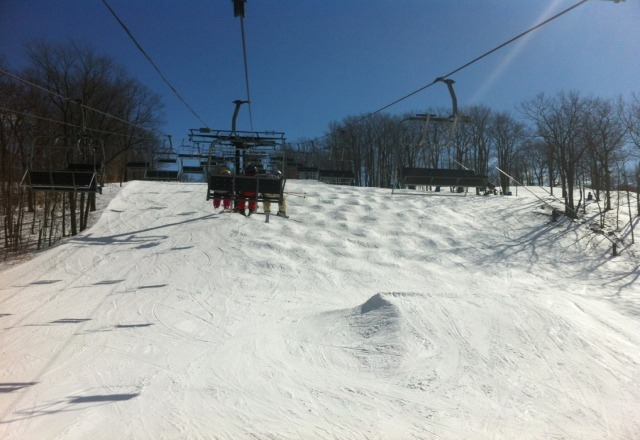 Awesome conditions Tuesday! lots of snow, SO fun!!! Open through this weekend, at least!