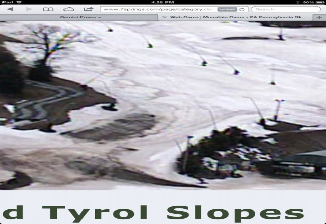 so you guys are reopening? have fun with that! just looked at the webcams and the slopes look like a muddy disaster! especially near the lifts. nutting will do anything to make a buck...