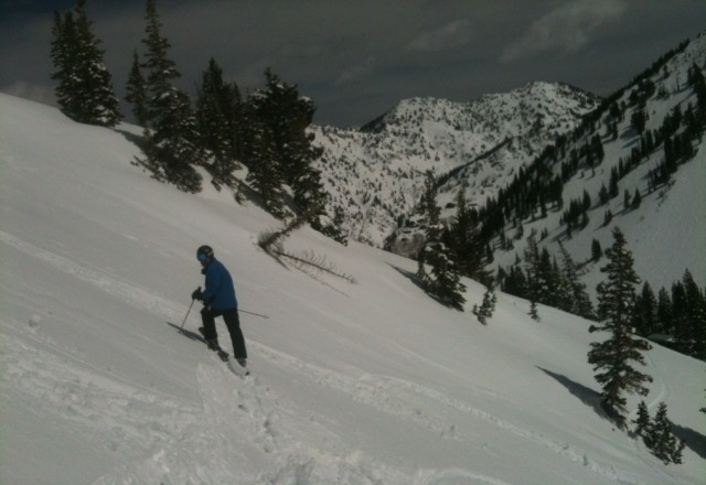 alta is closed til next fri was there yesterday the snow was absolutely fantastic