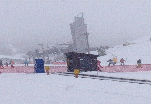 snowing!!!