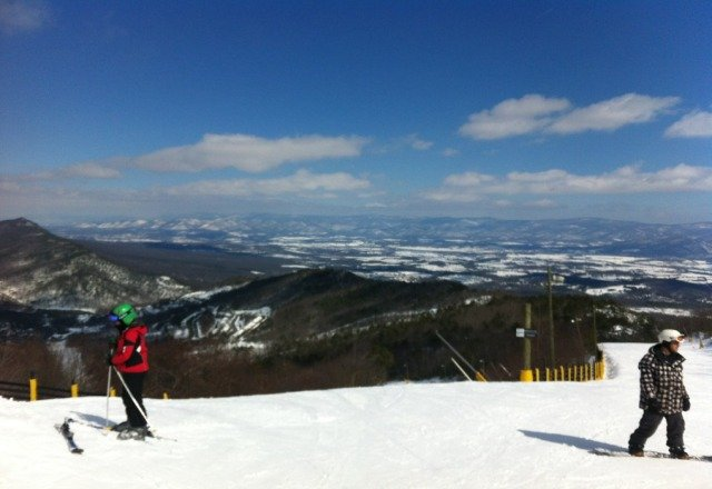 Conditions were great today. Snow was fast in the morning and softened up nicely by afternoon. Get there this weekend!