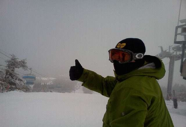 Rained Most of the day on Tuesday Trails held up very well Thumbs up To Mount Snow