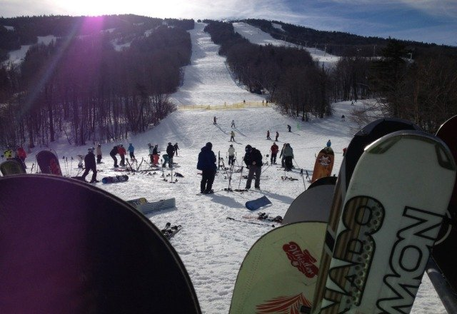 Amazing day on Saturday.  No lines, plenty of snow and spring temps.  Looking forward to a great season of skiing!