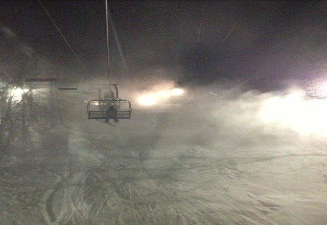 great night with awesome snow!!!