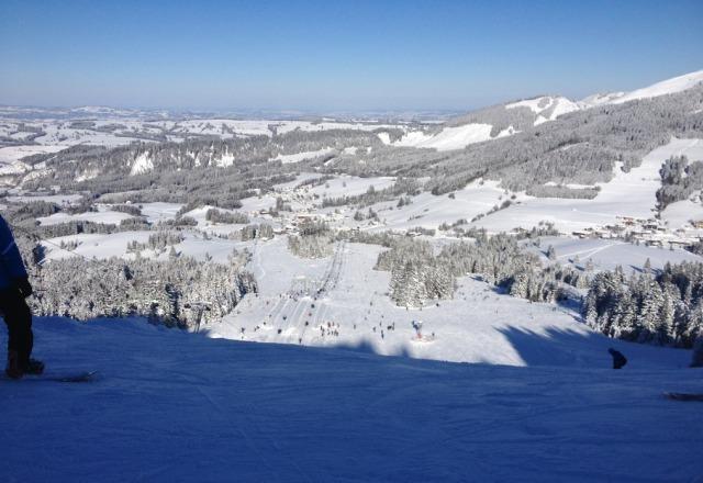 jungholz bilder fotos aus dem skigebiet skiinfo. Black Bedroom Furniture Sets. Home Design Ideas