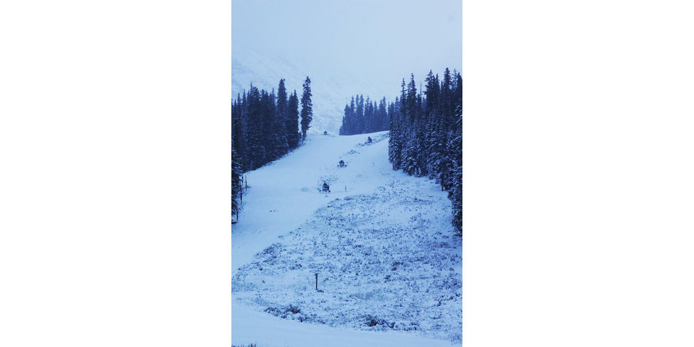 Arapahoe Basin first snow of the season