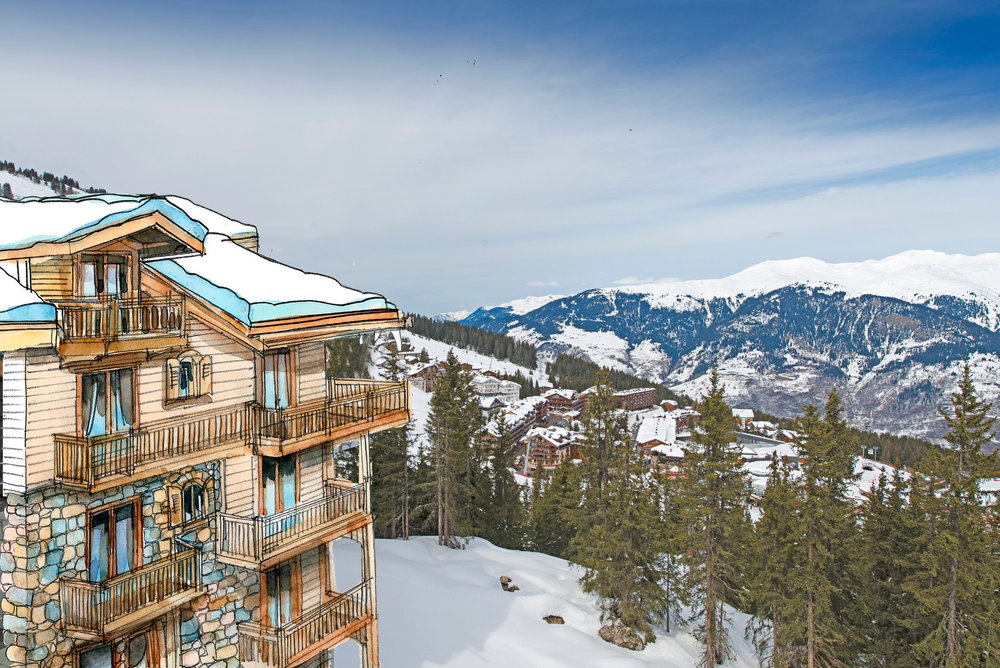 The new Oetker Collection Hotel l'Apogée Courchevel - ©Courchevel