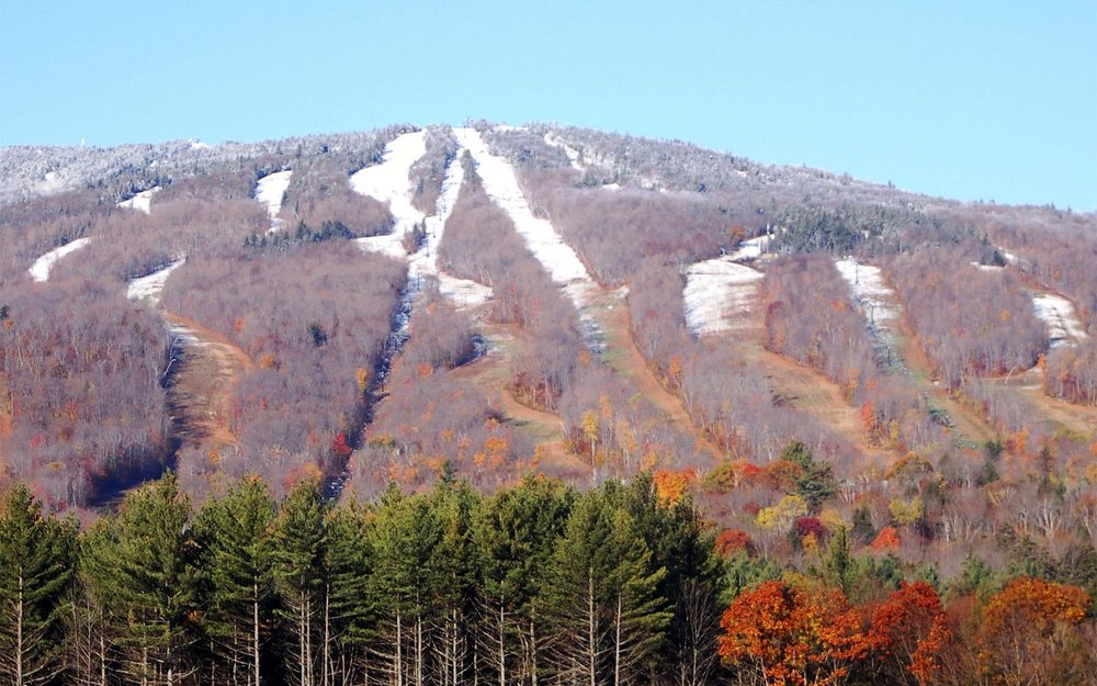 Okemo, Vermont in the fall.