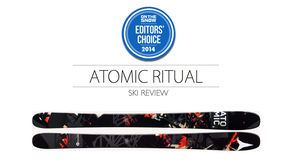 2014 Men Powder Editor Choice Ski: Atomic Ritual