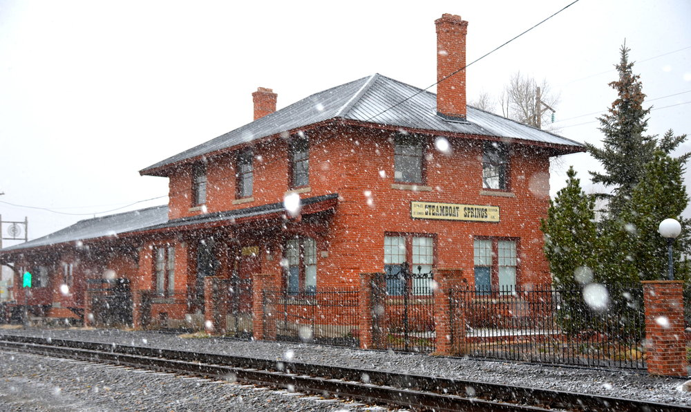 Steamboat train depot   - ©Shannon Lukens