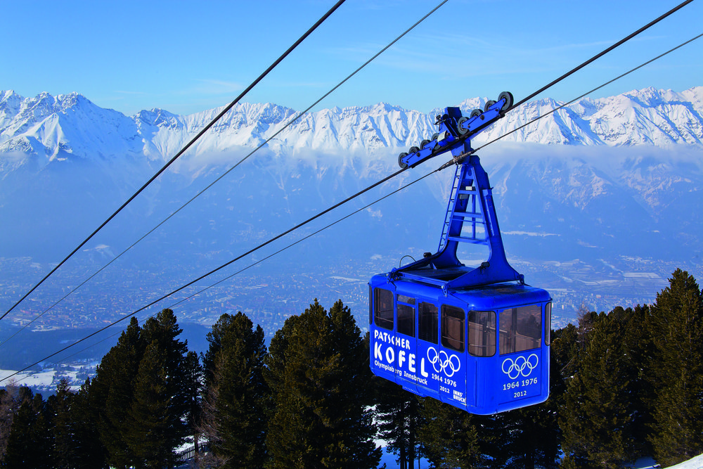 Best ski runs: Olympia run, Igls, Austria