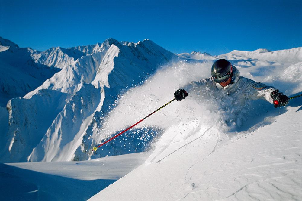 Powder skier - ©Graubűnden