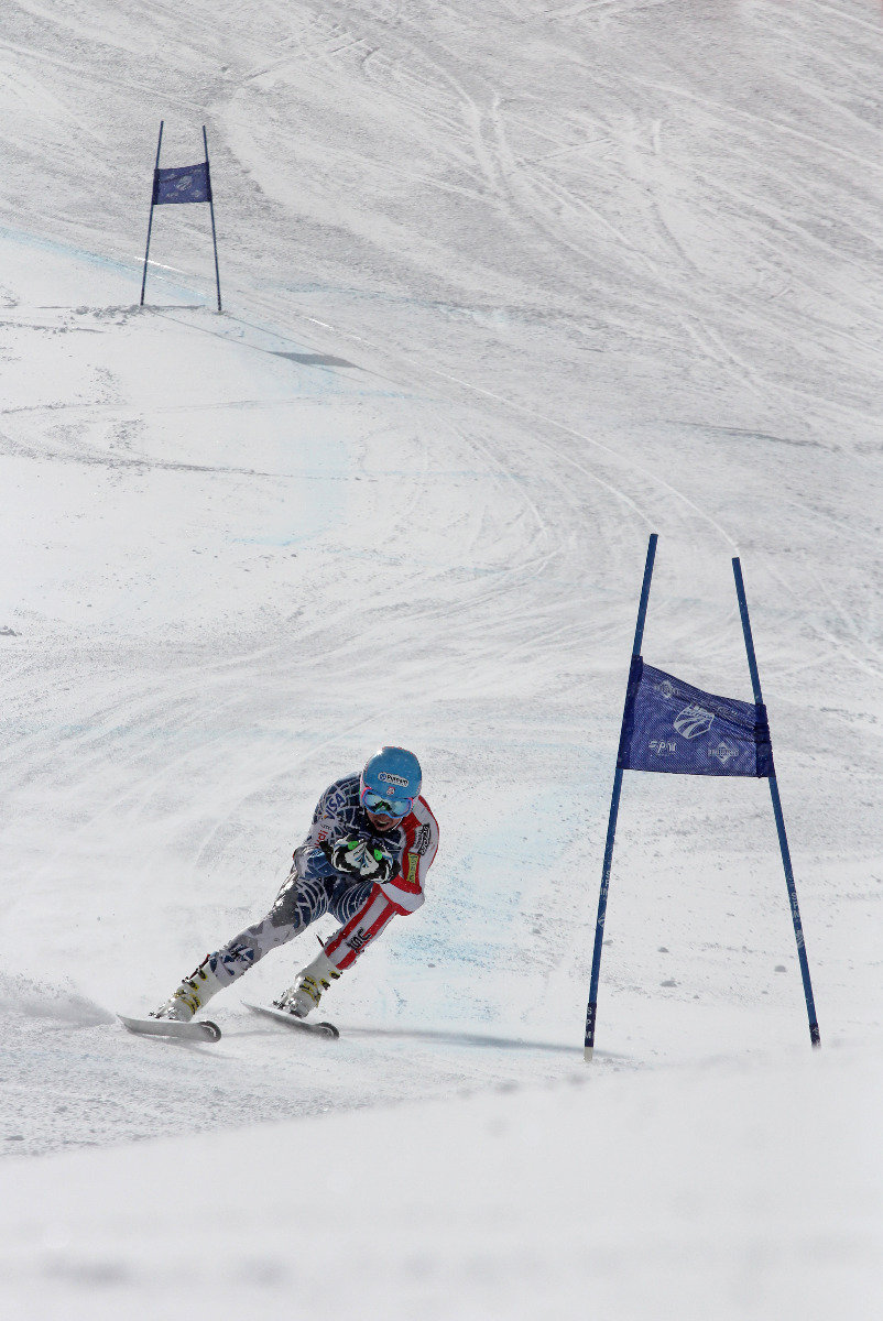 Ted Ligety trains with the U.S. Ski Team at Copper Mountain. - ©Photo courtesy Tripp Fay/Copper Mountain Resort.