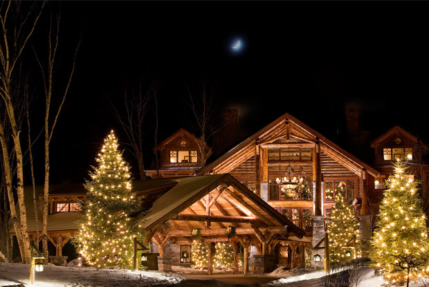 Whiteface Lodge, master of rustic luxury. - ©Whiteface Lodge