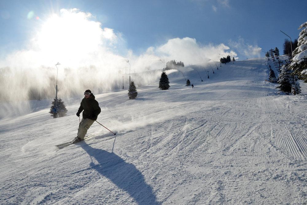 Sunshine through Snowmaking - ©Seven Springs