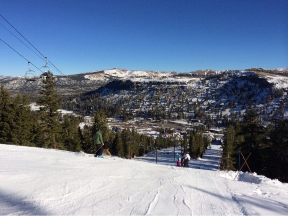 Solid opening day at kirkwood