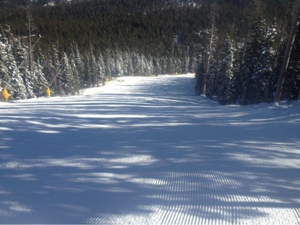 Get there early for no lines and nice groomed runs. Afternoon gets icy but still great for Eldora to be open!