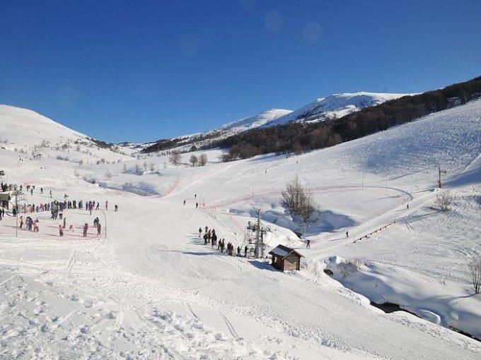 Skiing Val d'Ese in Corsica, France - ©Commune de Bastelica