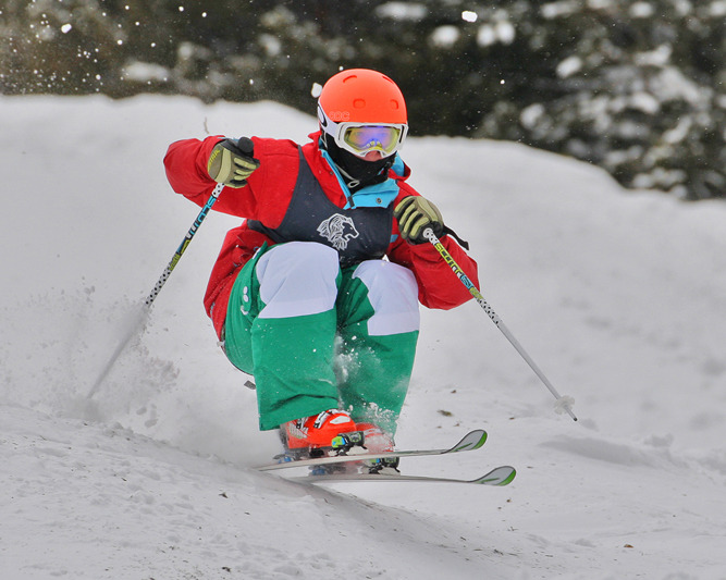Rocky Mountain Freestyle Divisionals Winter Park. Photo courtesy Bob Wolf/Winter Sports Photos.