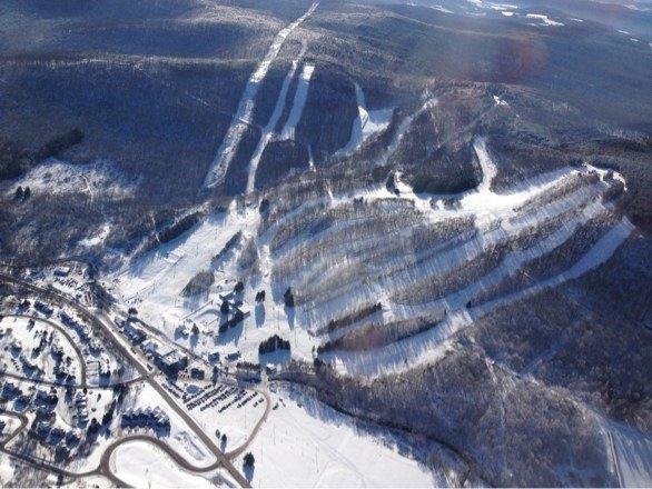 Aerial view 9:30am