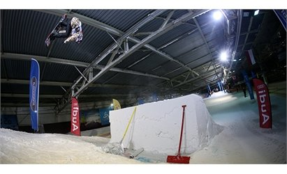 At the snowpark in SnowWorld Landgraaf (Holland) - ©SnowWorld