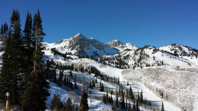 Fantastic bluebird day Monday! Time for more snow Mother Nature!