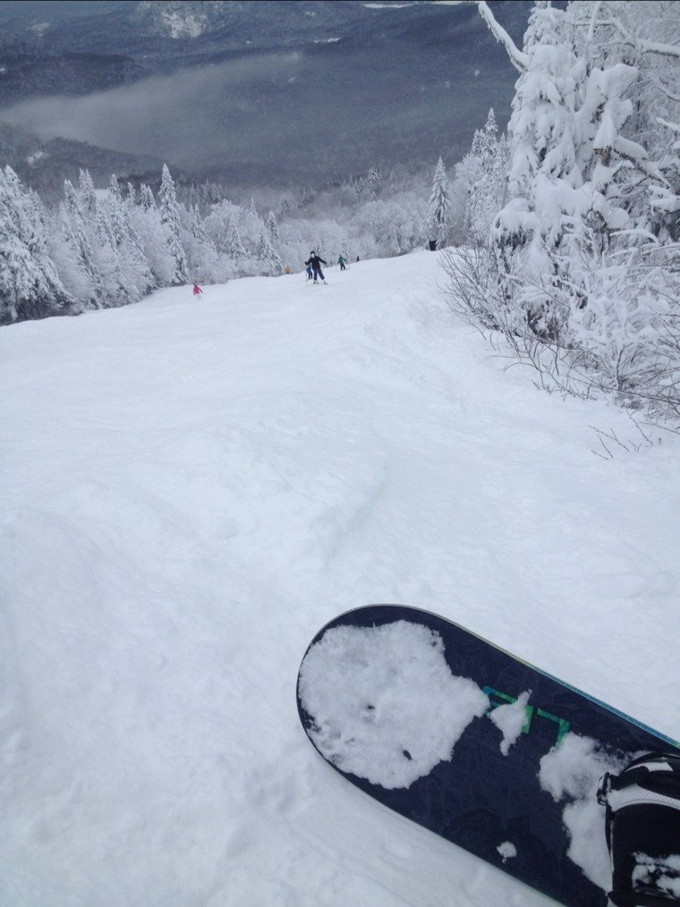 Awesome powder day on saturday!!!