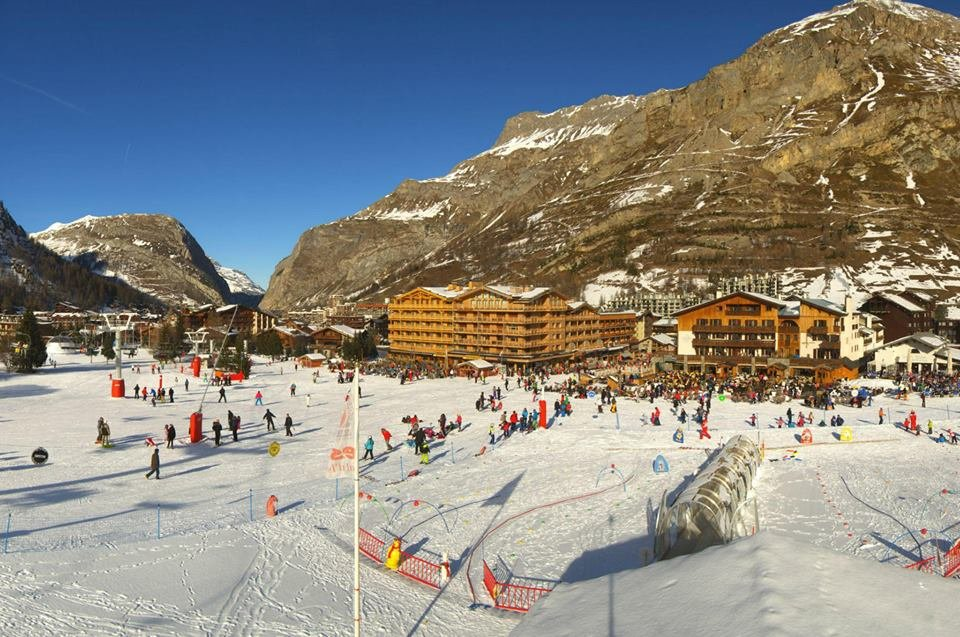 Nursery ski area in Val d'Isere - ©Val d'Isere