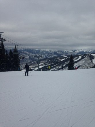 Snow is good, but lift tickets were $139 today. Copper Mountain is half that price.