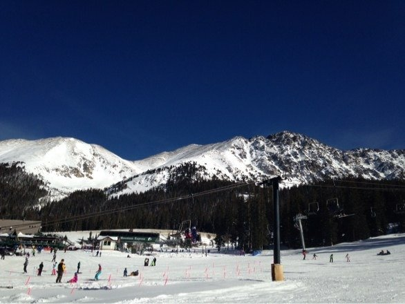 Beautiful day at A-Basin!!!