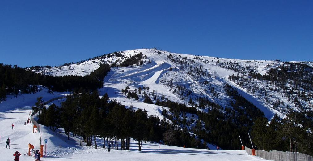 A view of open runs at Pal-Arnisal, Andorra