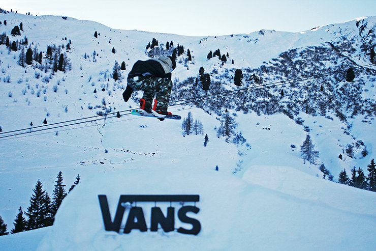 Vans Penken Park Mayrhofen - ©Stefan Drexl