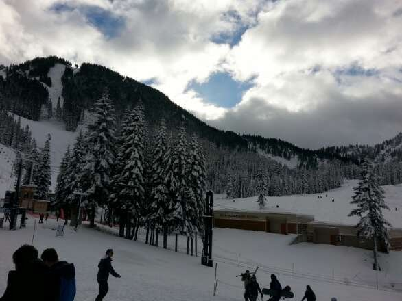 conditions were so much better then they have been. great day on the slopes