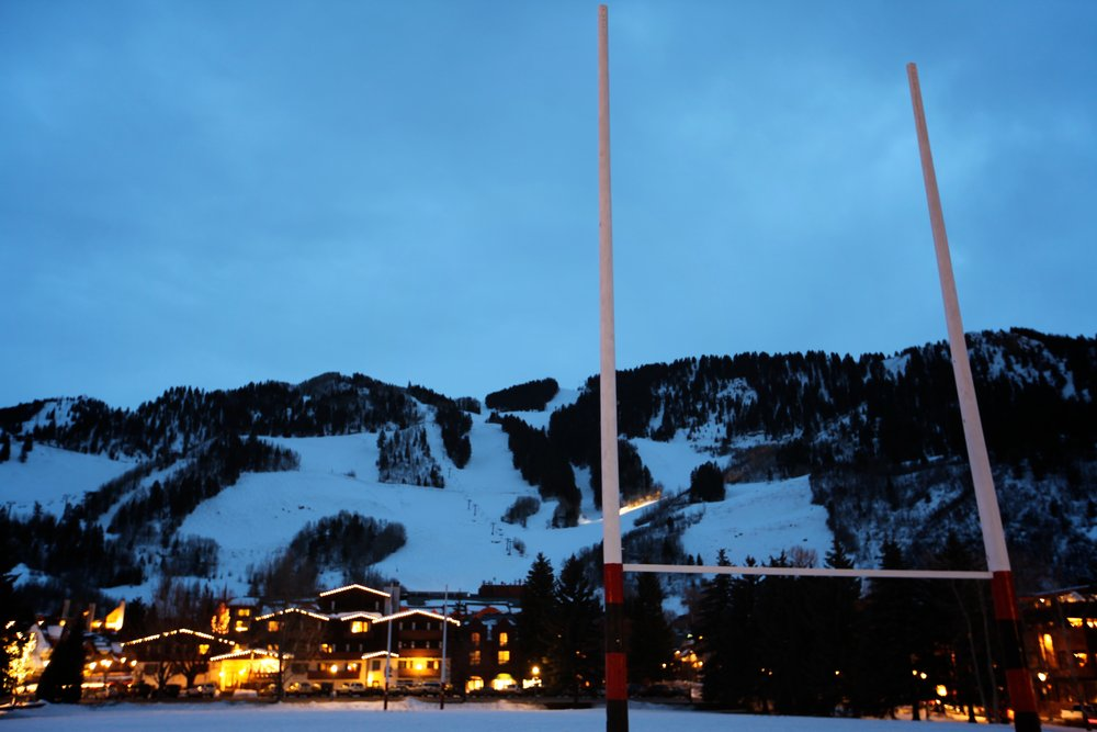 Aspen Mountain one block from OTS's headquarters at the Limelight Hotel.