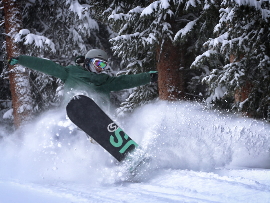 Plenty of powder to be had in Copper trees.