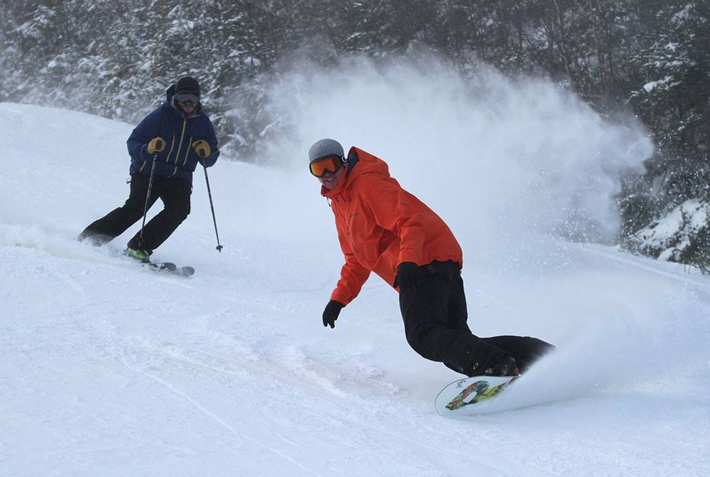 Ski more and save more this season in New England. - ©Loon Mountain