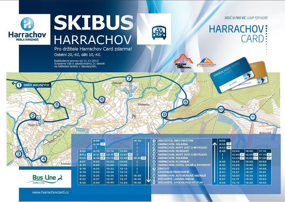 Skibus Harrachov