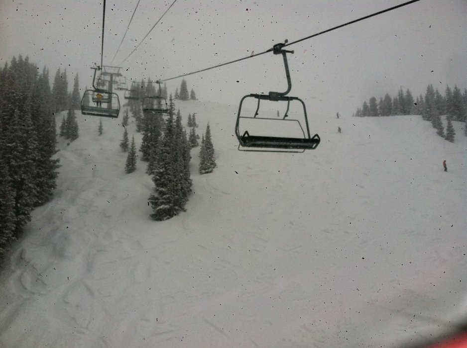 Whiteout in Telluride!