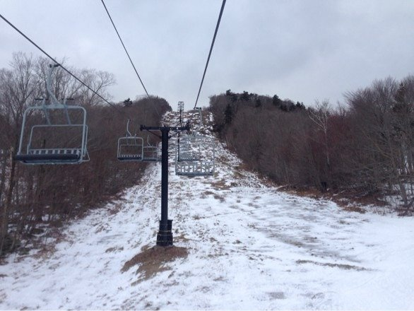 Poor killington, it was the most nice and least snow I've ever seen there.