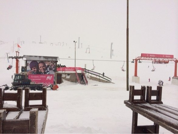 Heavy snow today tomorrow all informations for the snow depth!