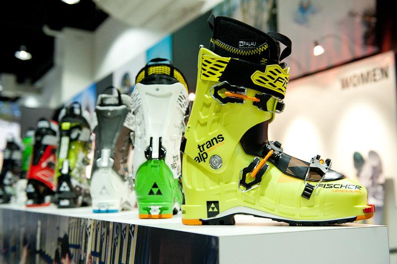 Fischer Trans Alp backcountry boot. - ©Ashleigh Miller Photography