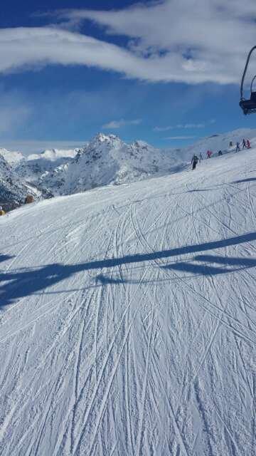 fantastico!!!! sole e tanta neve !!!