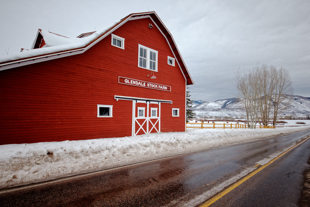 Aspen's ranching heritage is still unmistakable. - ©Liam Doran
