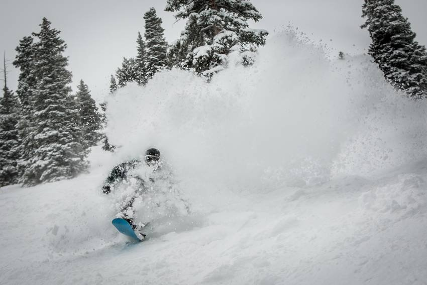 Aspen has a powder problem right now... not a bad problem to have!