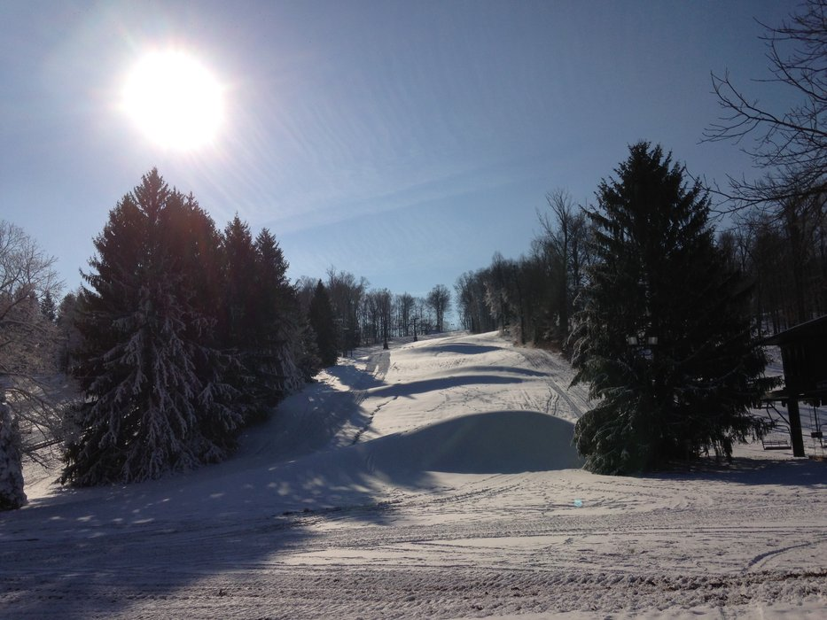 Slopes at Ohio's Snow Trails