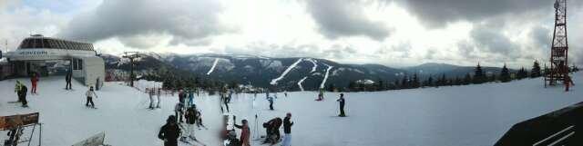 good snow conditions