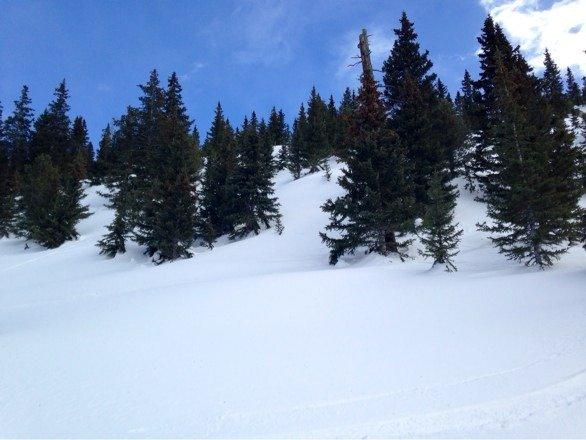 Skied here Sunday and Monday, 2/23-24. 5